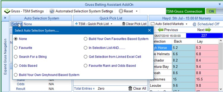 Automated Selection Systems