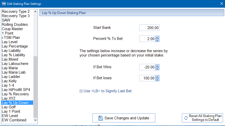 Lay betting staking plans for horse fish binary options